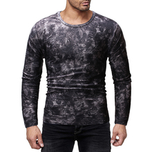 MarKyi 2019 New Men Long Sleeve Camouflage Fitness 3D Quick Dry Mens Running T-shirt Gym Clothing Top Rashguard Compression