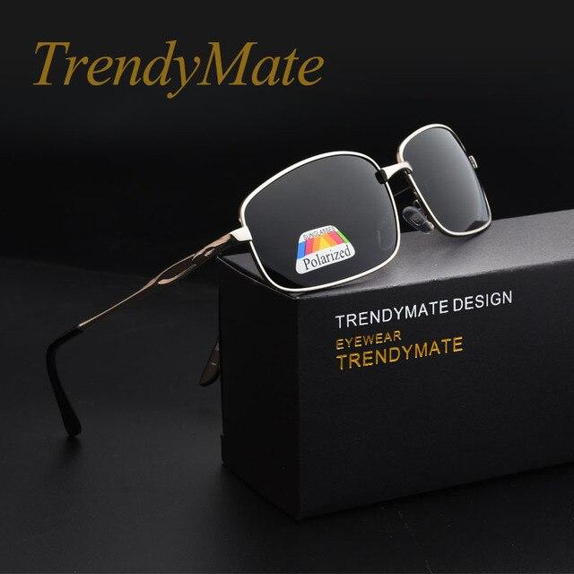 TrendyMate Nova Chegada Esporte Ao Ar Livre Dos Homens Polarizados Óculos  De Sol Masculino óculos de 778e7e57a0