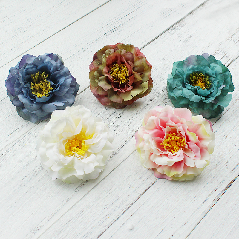 Korean Girl hair accessories Artificial flowers hair clips Double Rose floral barrettes Hair Clip Bridal Hair Accessories Brooch