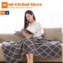 Nouvelle arrivée Xiaomi Ce Soir Peigné coton tricot couverture Multifonctionnel doux Coton couverture confortable pour la maison bureau deux taille