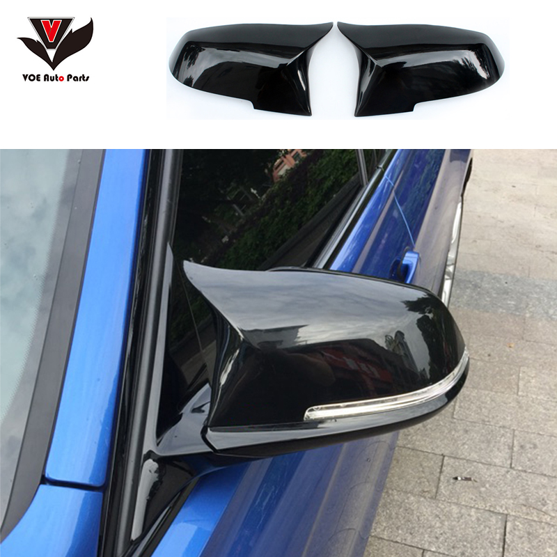 Gloss Black M3 M4 Look F20 F21 F22 F23 F30 F31 F32 F33 F36 GT F34 ABS Replacement Mirror Covers for BMW 1 2 3 4 Series f30 new m look carbon fiber replacement style side mirror covers for bmw 1 2 3 4 series f20 f21 f22 f23 f30 f31 f32 f33 f36