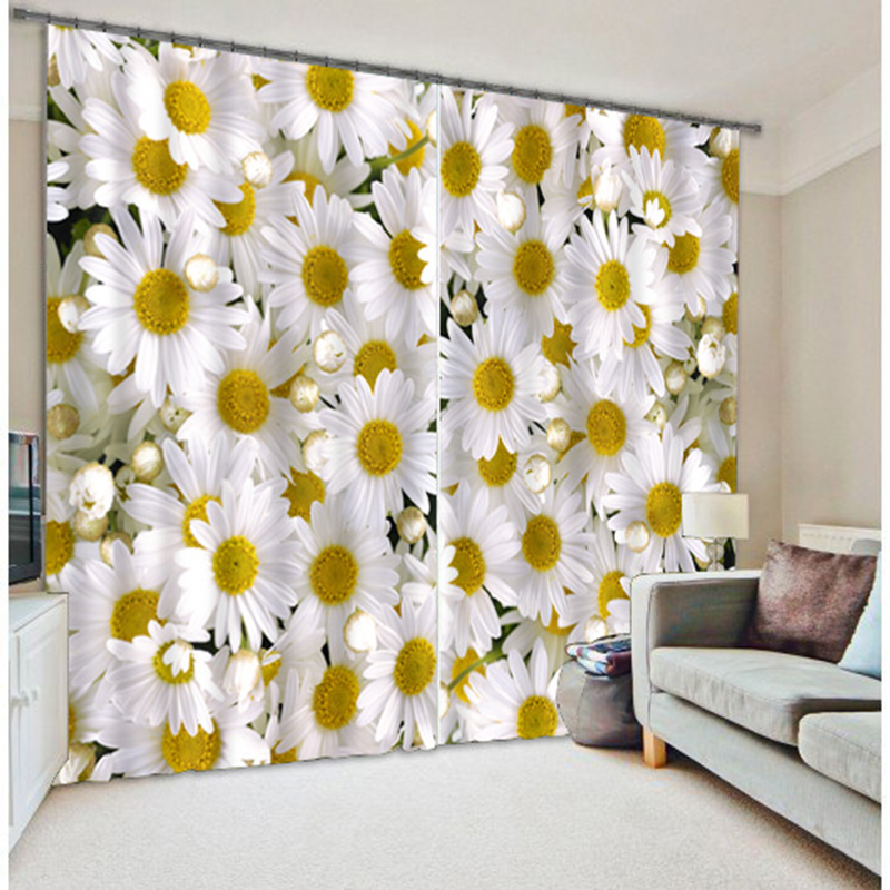 New Cafe Office 3D Blackout Curtains Chinese ink Painting Plum Pattern Fabric Washable Bedroom Curtains for Living Room Textiles in Curtains from Home Garden
