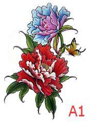 Tatuagens Temporárias 5 cores linda dreamcatcher pena Marca : Aurelife