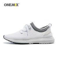 Onemix sport walking shoes for women outdoor trainer shoes for men's medium increasing women running run shoes size 36 45
