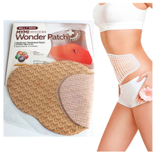 5pcs/Box MYMI Quick Wonder Slimming Patch Slim Body Belly Abdomen Weight Loss Fat Burning Plaster Navel Stick