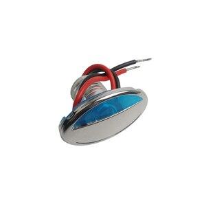 Image 5 - 316 de aço inoxidável led rv marinha barco luz para baixo cortesia luz 12 v dc