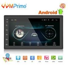 AMPrime 2 Дин Радио 7 «авто мультимедиа для Android gps Bluetooth FM/USB/AUX MP5 плеер 2din стерео резервного копирования мониторы