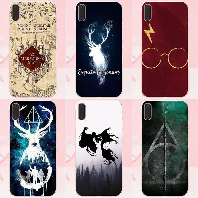 Harry Potter Wallpaper Soft Print Phone Cover Case For Apple IPhone 4 4S 5 5C SE