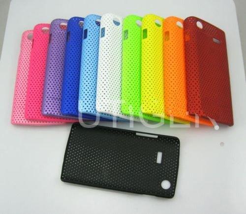more discount free shipping  100pcs/lot Mesh Hard Case Cover for Samsung GT-i9088 Galaxy S