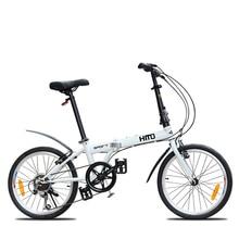 New brand 20 inch wheel carbon steel frame 6 speed folding mountain bike outdoor sport downhill bicicleta BMX MTB bicycle
