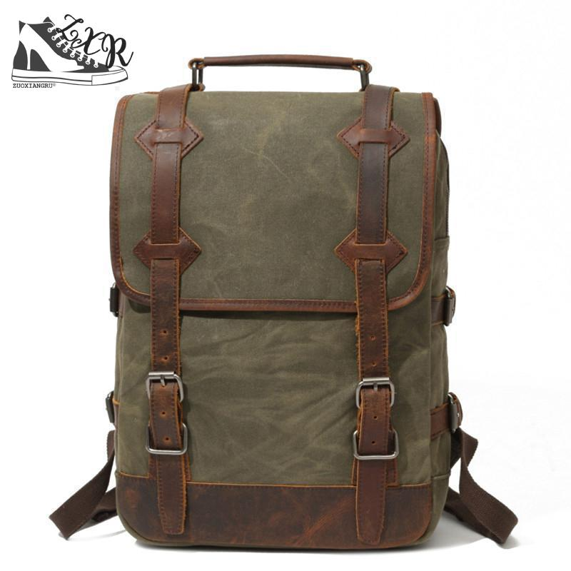 Zuoxiangru Vintage Women Canvas Backpack Teenager Girl Men Casual Student Bag Fashion Travel Rucksacks Laptop Bag fashion women men s canvas backpacks college preppy teenager girl boy student school bag backpack casual travel mochila feminina