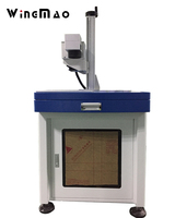 Top sale UV resistant YAG Crystals uv laser marking machine pulsed laser