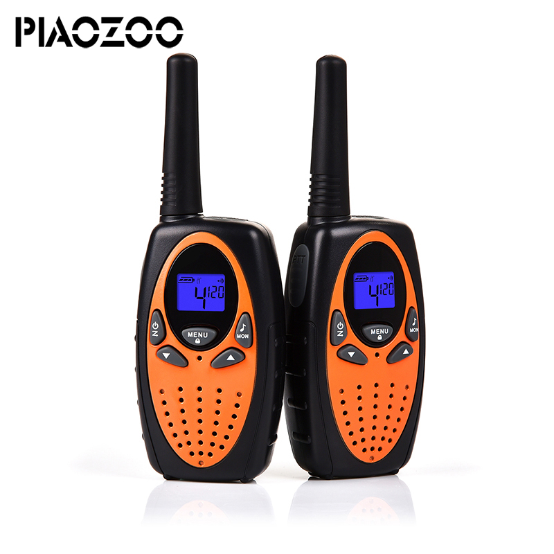 цена на Hot Toy walkie talkiet set 2 piece wireless telephone talkie walkie portable children Radio intercom Hf Frequency TransceiverP20