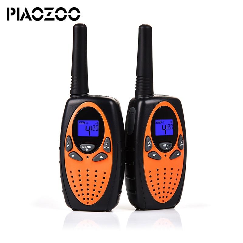 Hot Toy walkie talkiet set 2 piece wireless telephone talkie walkie portable children Radio intercom Hf Frequency TransceiverP20
