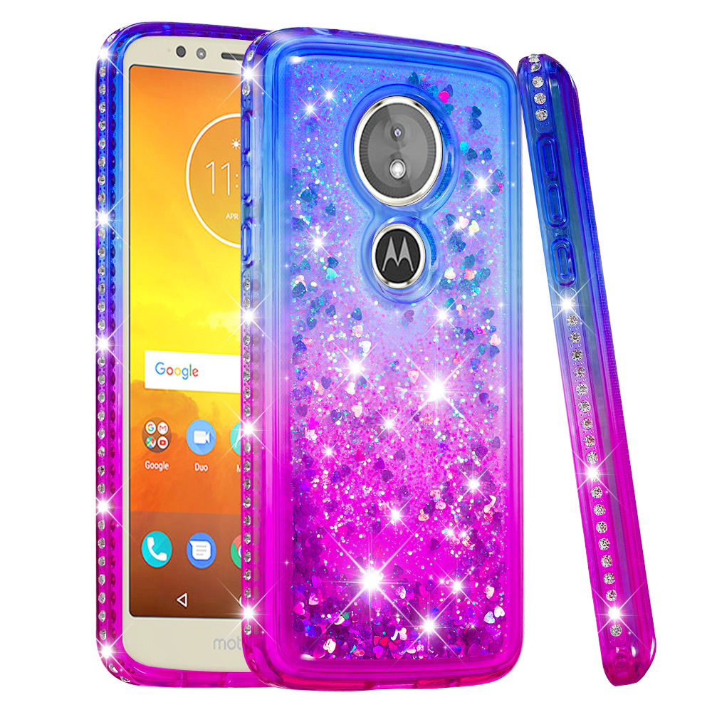 Reasonable Funda For Motorola Moto C Plus Dynamic Liquid Quicksand Case Xt1721 Xt1723 Xt1724 Xt1725 Xt1726 Soft Silicone Tpu Bumper Cover Always Buy Good Half-wrapped Case Phone Bags & Cases