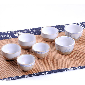T02,coarse pottery big tea cups,handmade ceramic cup and saucer,for Chinese tea,water,drinking ware,teaware,puer,Oolong,red tea