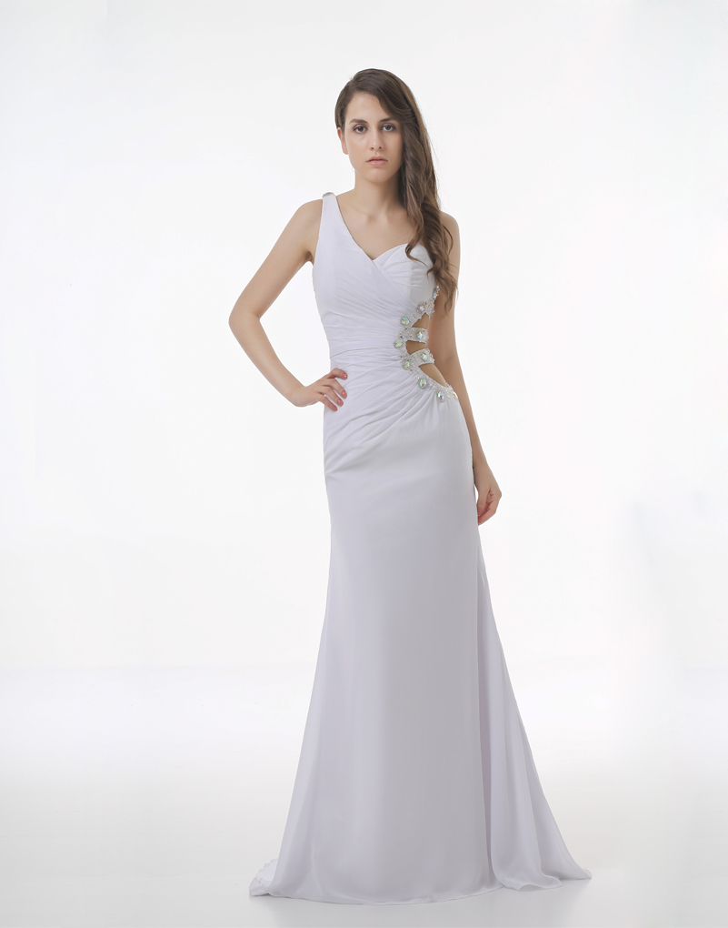 Online Get Cheap Long White Formal Dresses for Juniors -Aliexpress ...