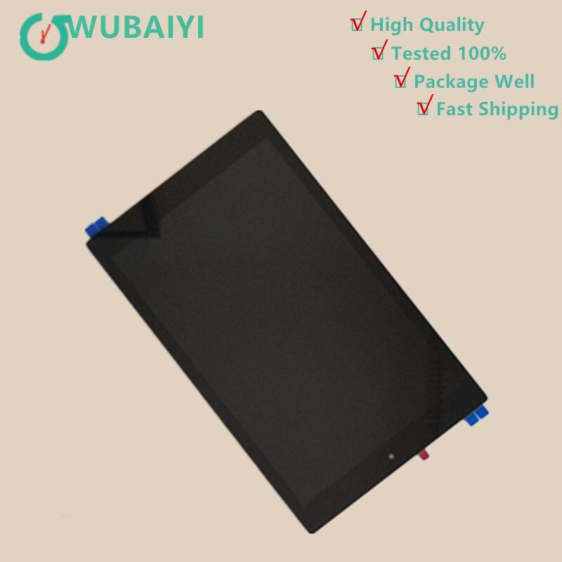 10.1 pouces pour Amazon Kindle fire HD 10 HD10 2015 écran tactile numériseur capteur verre LCD affichage moniteur assemblée