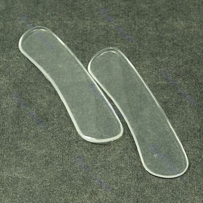 EYKOSI New 1pair Gel Heel Liner Insole Cushion Shoes Boots Pumps Insert Protector Grip