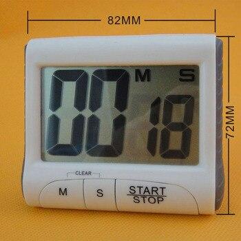 e36dc564051d LCD magnética Cocina Digital temporizador de Cuenta regresiva alarma con  soporte cocina temporizador práctico cocina reloj de alarma de temporizador  de ...