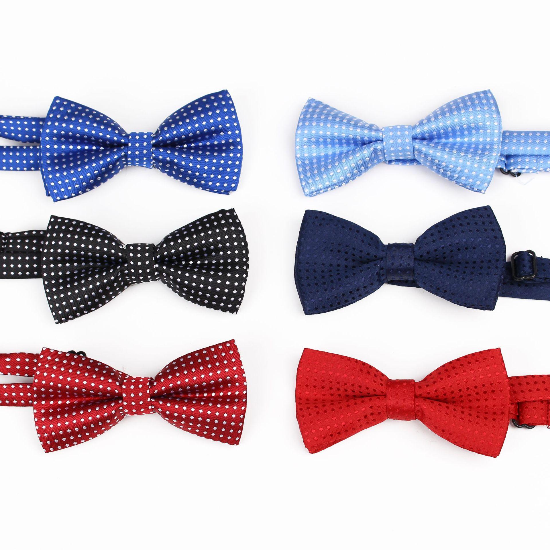 Neue Mode 2019 Neue Einfache Persönlichkeit Kinder Laufsteg Zeigen Dekoration Fliege Farbe Welle Baby Mini Jungen Und Mädchen Zubehör Bogen Krawatte