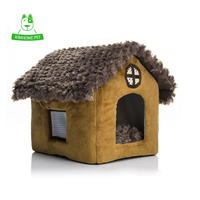 New Warm Soft Removable Cover Pet House Small Dog Puppy Cat Kennel Teddy House