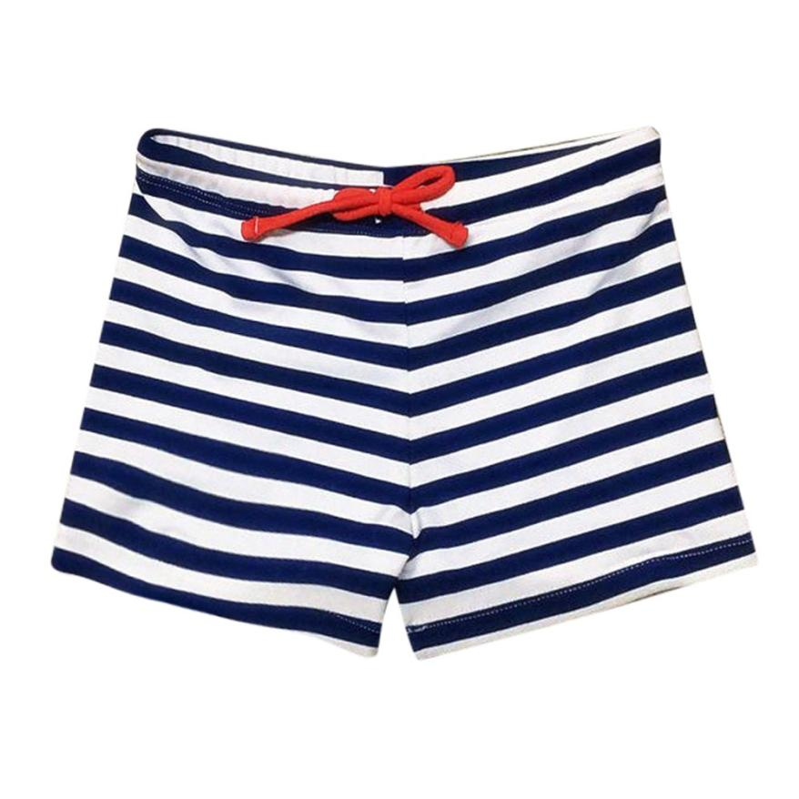 Baby Boys Swimwear Beach 2Color Striped Print Trunks Infant Swimsuit Toddler Kids Bathing Clothes for Summer Party Beach 18May14 lobster print striped swimsuit