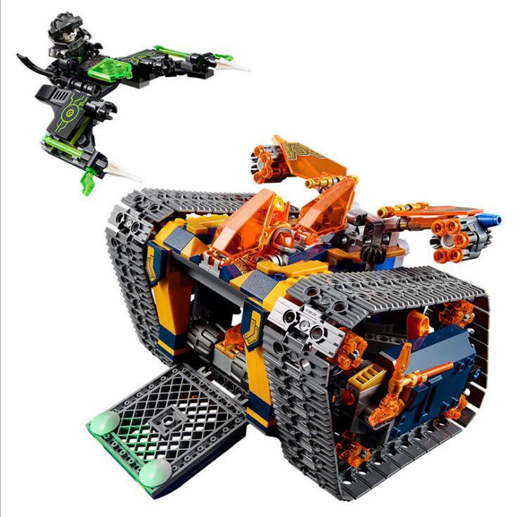 Lepin 14042 Knights Heavy-Armed Mobile Tracker Model Building Blocks Brick Toys For Children Christma Gift LegoINGlys 72006 lepin 22001 pirate ship imperial warships model building block briks toys gift 1717pcs compatible legoed 10210