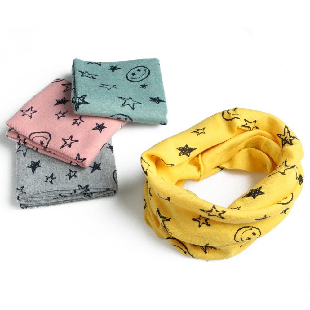 New Autumn Winter Boys Girls Warm Collar   Scarf   Cotton O Ring Neck   Wrap     Scarves