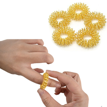 10 pc Finger's Beauty Tool Finger Massage Ring Acupuncture Ring Health