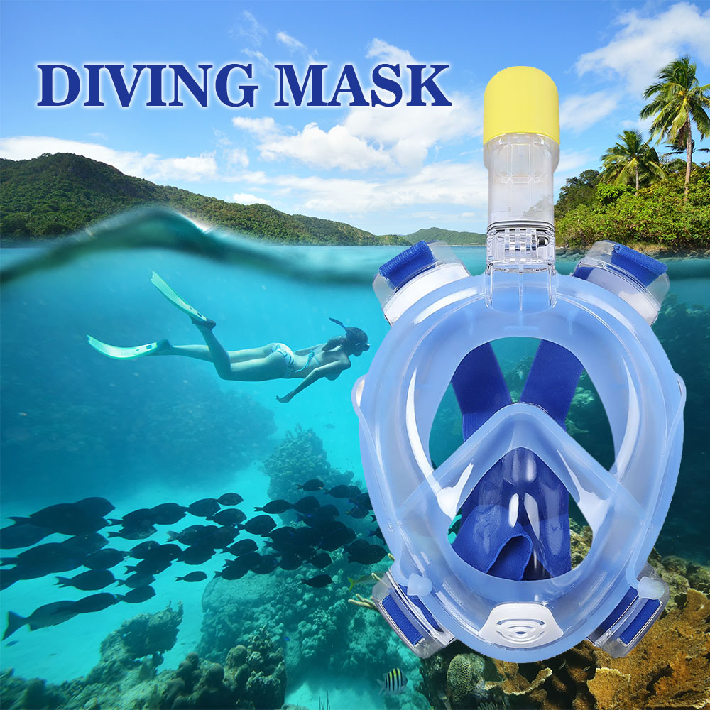 Gopro Camera Anti Fog Diving Mask For Swimming Training Scuba Underwater Diving Full Dry Snorkeling Mask Set With Breathing Tube 2017 hot professional underwater camera diving mask scuba snorkel swimming goggles for gopro xiaomi sjcam sports camera