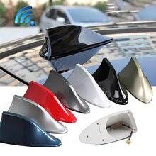 Antena tipo aleta de tiburon de coche antenas de señal de Radio de coche accesorios para Renault megane 2 clio 1 3 4 duster koleos deporte escénica kadjar