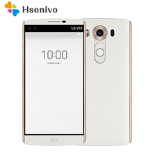 "Original LG V10 H900 H901 4G LTE Android Mobile Phone Hexa Core 5.7"" 16.0MP 4GB RAM 64GB ROM 2560*1440 Smartphone Free shipping"