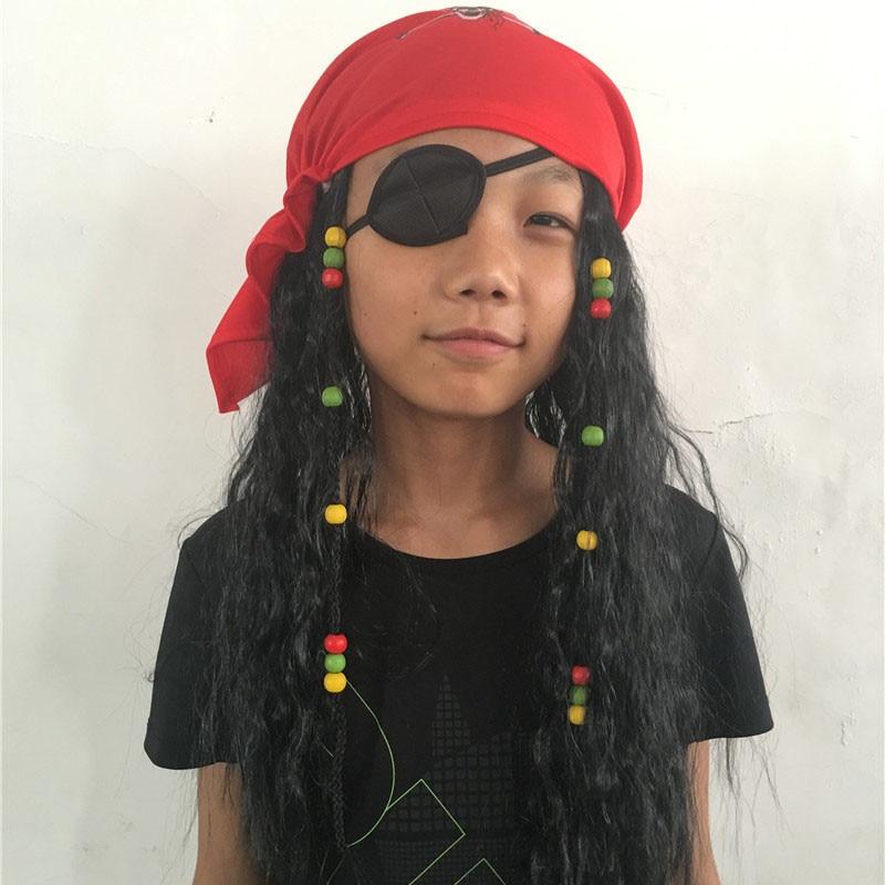 Piratas del Caribe Jack Festival Fiesta de Cosplay Del Partido Del Traje pirata