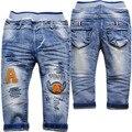 3968 детские джинсы брюки мальчиков брюки дети светло-синий весна и осень мода