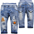 3968 baby denim jeans pants boys trousers kids light blue spring&autumn fashion