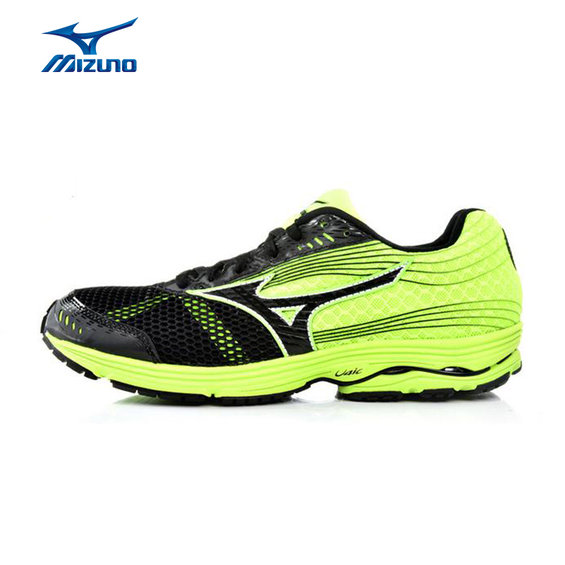 MIZUNO Men WAVE SAYONARA 3 Breathable Light Weight Cushioning Jogging Running Shoes Sneakers Sport Shoes J1GC153009 XYP367 peak sport speed eagle v men basketball shoes cushion 3 revolve tech sneakers breathable damping wear athletic boots eur 40 50