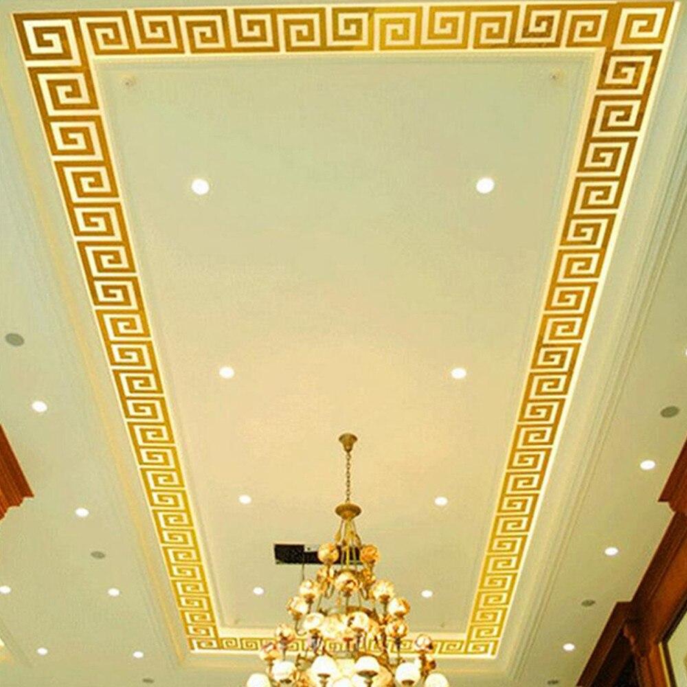 Wallstickers 10 PCS DIY Modern Acrylic Plastic Mirror Sticker Diy Ar-hall Bedroom Home Decoration Dekoration #815