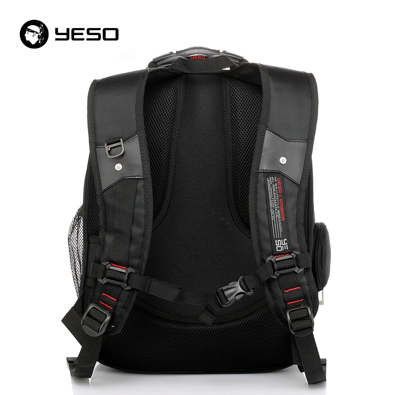YESO 15.6 Inch Laptop Backpack Waterproof Oxford Business Travel Backpack Multifunction Large Capacity Computer School Bags
