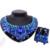 Nupcial magnífico Declaración de estilo Indio conjuntos de Collar pendientes de Gota de Agua Tipo Chapado En Oro Conjuntos de Joyas de Cristal Para El Banquete de boda