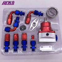 Universal auto fpr AN6 Fittings fuel pressure regulator For 7MGTE MKIII with hose line.Fittings.Gauge