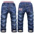 Розничные продажи высокое качество 2015 толстые зимние брюки для мальчиков девочек теплые кашемировые джинсы для мальчиков детской одежды для детей одежда торгово-горячее