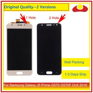 Image 1 - 10Pcs/lot For Samsung Galaxy J5 Prime G570 G570F On5 2016 G570 LCD Display With Touch Screen Digitizer Panel Pantalla Complete