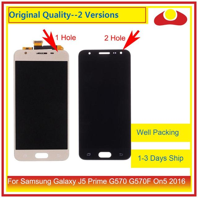 10Pcs/lot For Samsung Galaxy J5 Prime G570 G570F On5 2016 G570 LCD Display With Touch Screen Digitizer Panel Pantalla Complete