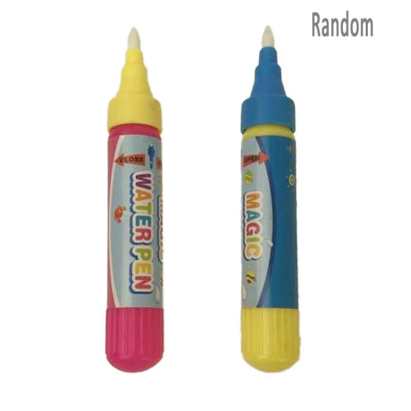 1pc Reusable Magic Water Brush Pen Kids Cloth Book Drawing Pen Magic Water Writting Graffiti Pens Non Toxic Clear Painting Toys