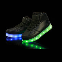 Children Led Luminous Shoes 2017 New Kids Colorful Glowing Led Shoes With Lights Up For Baby