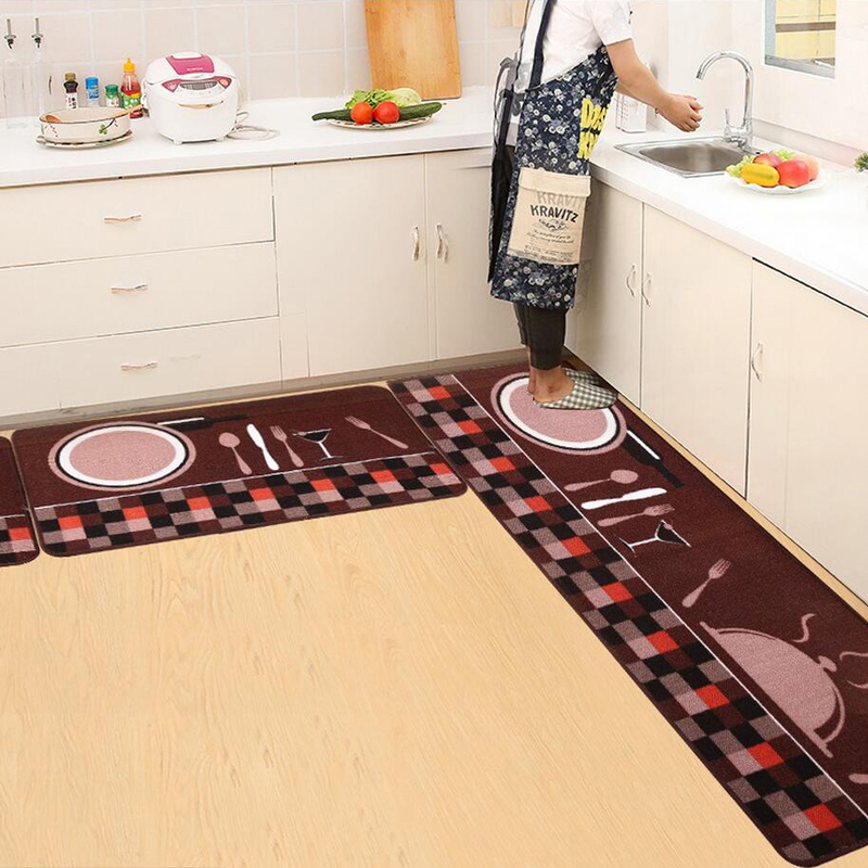 kitchen carpets under mount sink welcome floor mats i love cooking printed house doormats for living room anti slip absorbent tapete rug