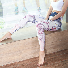 Yoga Pants Sports 2017 New Running Trousers Workout Clothes Sport Slim Fitness Women Gym High Waist Clothing Leggings for Female