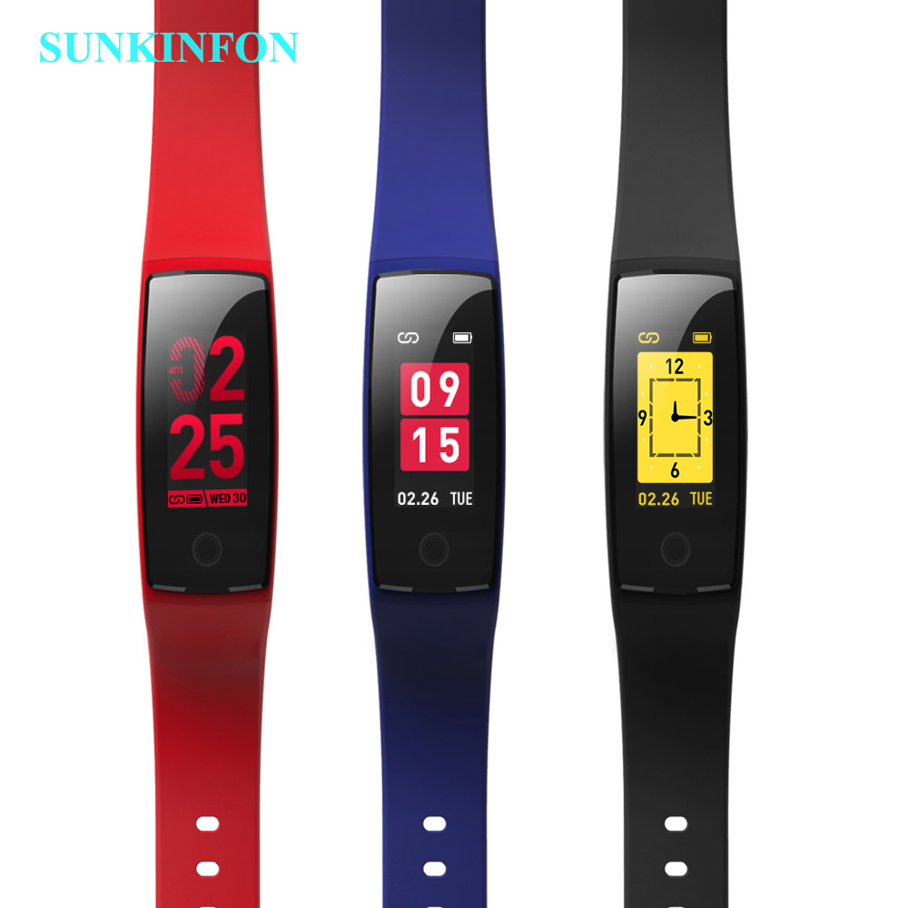 SV24 NEW Colorful Smart Wristband Bracelet Activity Track Heart Rate Monitor Blood Pressure Smart Band for One Plus one+ 1 2 X 3