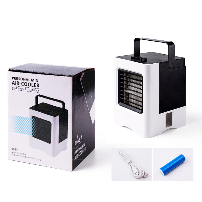 KBAYBO USB Portable Air Conditioner Humidifier Purifier Cool Soothing Wind Air Cooler Fan Air Cooling Fan for Office Bedroom in Fans from Home Appliances